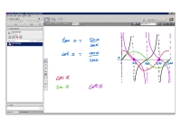 An example of online maths tuition for C3 Core Maths. The topic is the graphs of reciprocal trig functions.