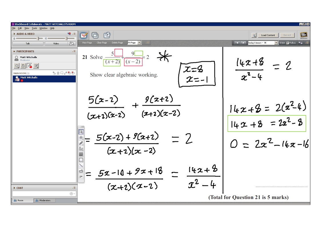 Addition And Subtraction Of Algebraic Fractions Worksheet – Algebraic Fractions Worksheet