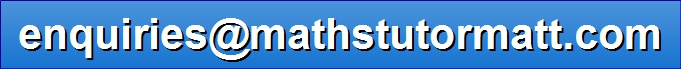 Maths Tutor: AS, A2, Further Maths, IB, CIE, IAL, GCSE, IGCSE (enquiries@mathstutormatt.com)